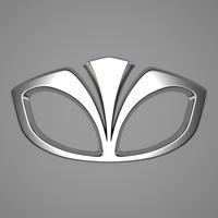 Daewoo Logo 3D Model