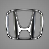 Honda Logo 3D Model