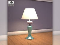 Ashley Sandhill Table Lamp 3D Model