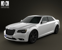Chrysler 300 SRT8 2012 3D Model