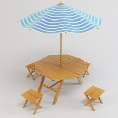Outdoor Furniture 3D Model