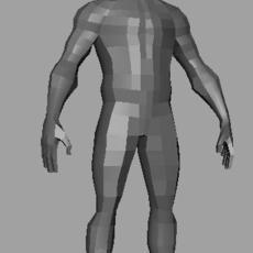 male base obj 3D Model