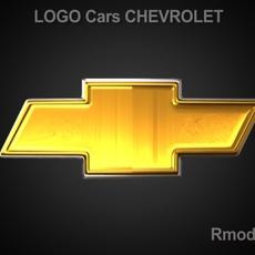 Chevrolet 3d Logo 3D Model