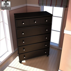Ashley Jaidyn Wide Chest 3D Model