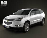 Chevrolet Traverse 2011 3D Model