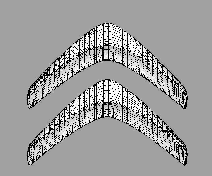 Citroen 3d Logo 3d Model