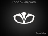 Daewoo 3d Logo 3D Model