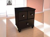 Ashley Jaidyn Nightstand 3D Model