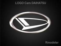 Daihatsu 3d Logo 3D Model