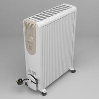 Portable heater 3D Model