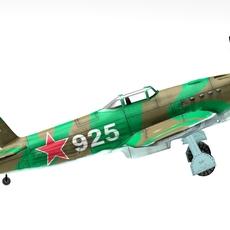 Yak-9 3D Model