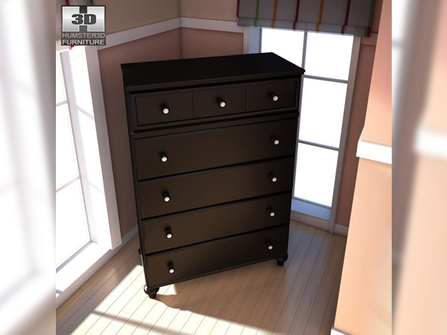 Ashley Jaidyn Poster Bedroom Set 3D Model
