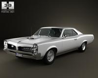 Pontiac GTO 1967 3D Model