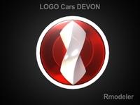 Devon 3d Logo 3D Model