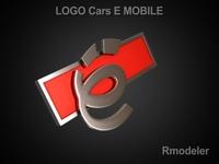 E_mobile 3d Logo 3D Model