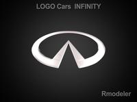 Infiniti 3d Logo 3D Model