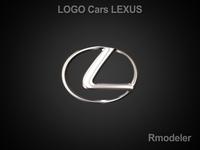 Lexus 3d Logo 3D Model