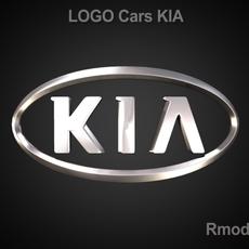 KIA 3d Logo 3D Model