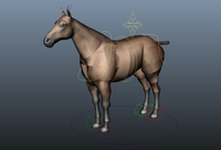 Free Quadruped Rigger -- automated rigging for four legged characters for Maya 1.1.1 (maya script)