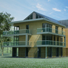 02 40 08 300 contemporary house 3d model 4