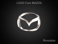 Mazda 3d Logo 3D Model