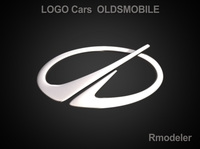 Oldsmobile 3d Logo 3D Model