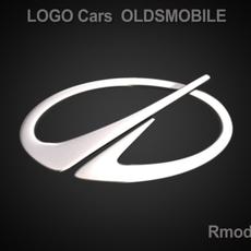 Oldsmobile 3d Logo 3D Model