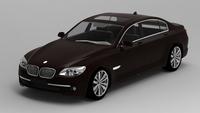 2009 BMW 7 Series 3D Model