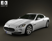 Maserati GranTurismo 2011 3D Model