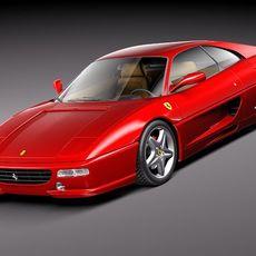Ferrari F355 1994-1999 3D Model