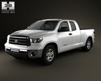 Toyota Tundra DoubleCab 2011 3D Model