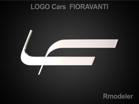 Fioravanti 3d Logo 3D Model