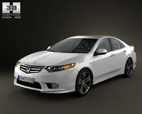 Honda Accord Sedan Type S 2011 3D Model