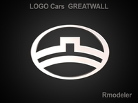 GreatWall 3d Logo 3D Model