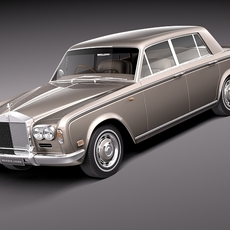 Rolls Royce Silver Shadow 1965-1980 3D Model