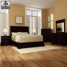 Bedroom 14 Set 3D Model