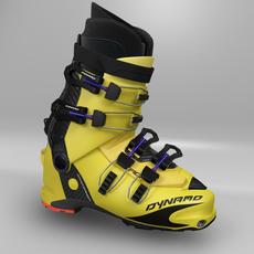 Ski Boot 3D Model