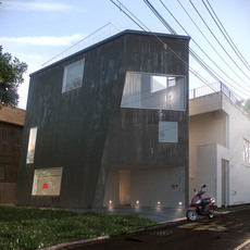 Matsubara house Kenichi Otani 3D Model