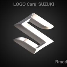 Suzuki 3d Logo 3D Model