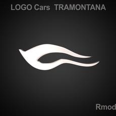 Tramontana 3d Logo 3D Model