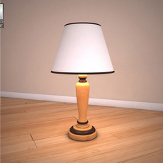 Ashley Stages Table Lamp 3D Model