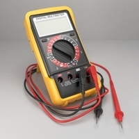Digital Multimeter 3D Model
