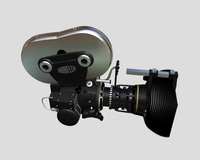 Cine-camera 3D 3D Model
