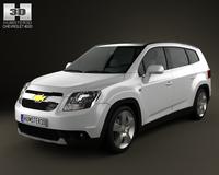 Chevrolet Orlando 2011 3D Model