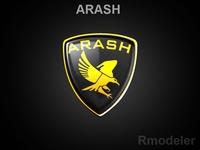 Arash 3d Logo 3D Model
