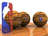 Photorealistic Basketball 3D Model