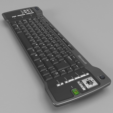 Media Center Keyboard 3D Model