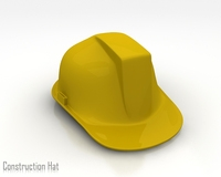 Consturction Hat 3D Model