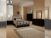 Bedroom furniture 17 Set 3D Model