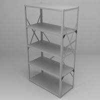 Office Racking 3D Model